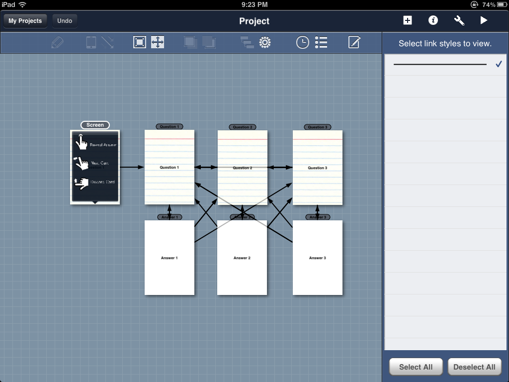 Zsprawls zapps creating a mock up of your app blueprint lite for the ipad is absolutely free and will allow you 2 mockups each with 8 screens this is quite enough to get the basic layout or menu malvernweather Image collections