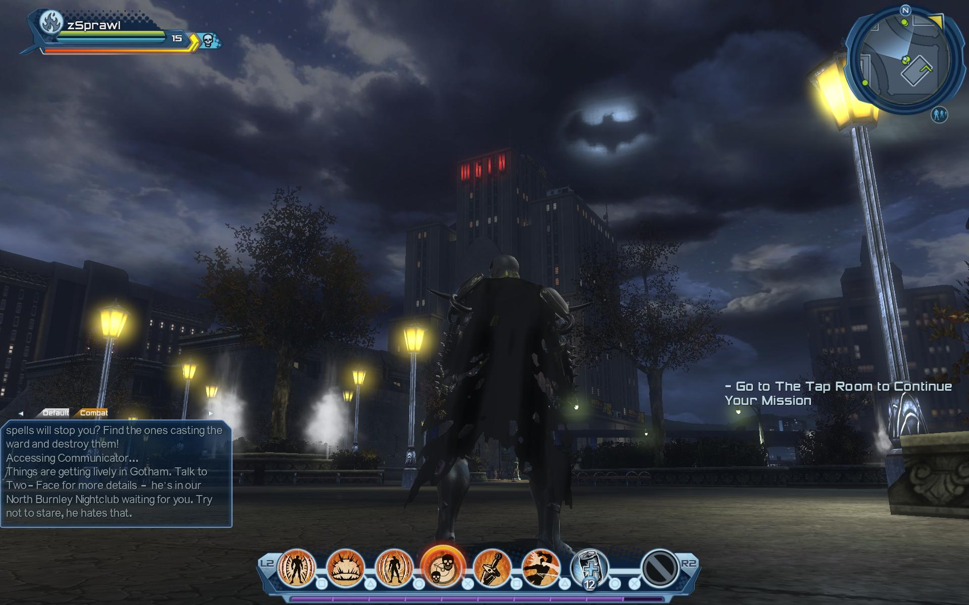 First-Look Review of DC Universe Online | Sprawl's Scrawl